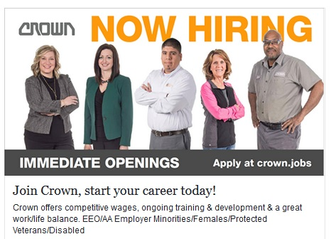 crown jobs