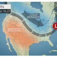 Polar vortex may unleash bitterly cold air, snow for Thanksgiving