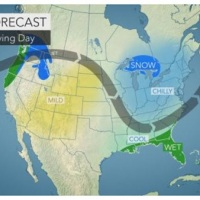 Thanksgiving travel forecast: Millions to face delays, slowdowns as fast-paced storms strike northern US