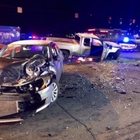 Fleeing Suspects Crash and Die; Two Other People Critically Injured