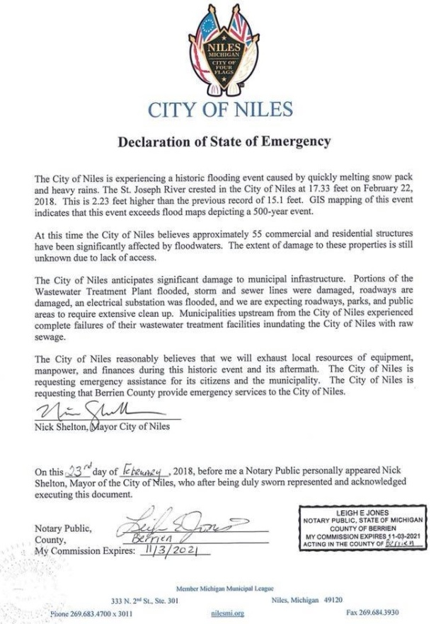 niles state