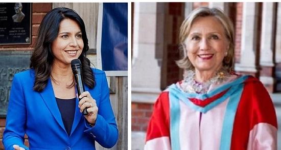 Tulsi Gabbard Hillary